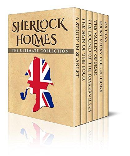 Kindle: Sherlock Holmes Ultimate Collection, Illustrat