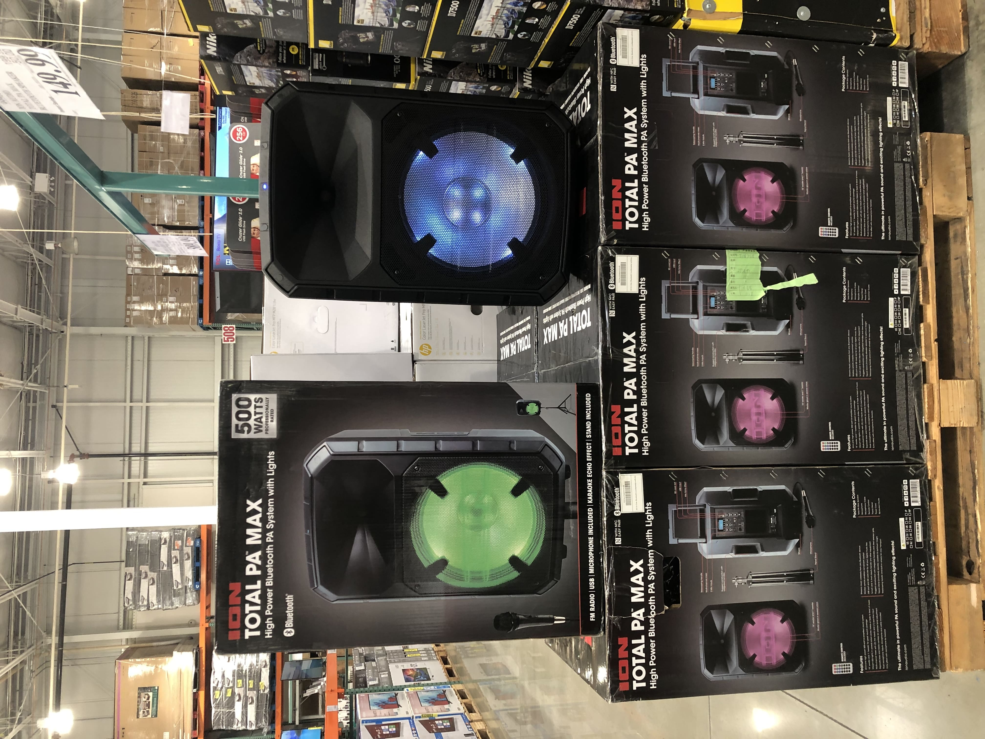 ION Total PA Max Bluetooth PA System $149.99
