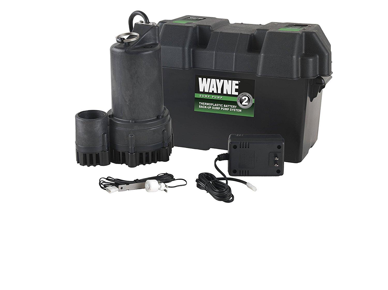 WAYNE ESP25 12 Volt Battery Back-Up Sump Pump System $179.41