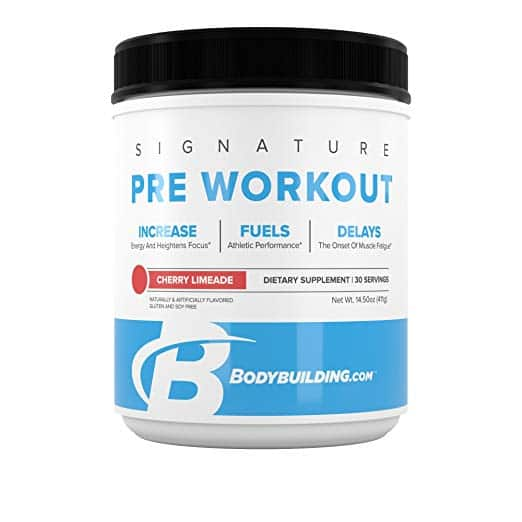 Bodybuilding.com Signature Pre-Workout Powder $12