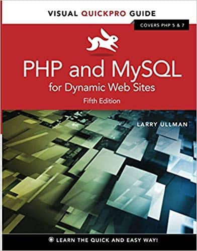 Php and Mysql for Dynamic Web Sites : Visual Quickpro Guide (Paperback) (Larry Ullman) $20