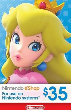 Nintendo $35 USD eShop Digital Cards US for $29.99 (Email Delivery)