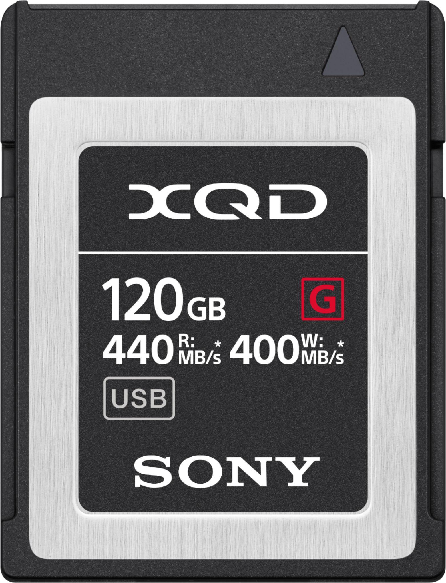 My BestBuy Offer : Sony - G-Series 120GB XQD Memory Card for $166.49