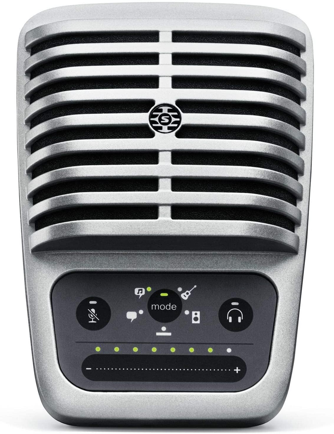 Gen 1 & 2 Shure MV51 Digital Large-Diaphragm Condenser Microphone + USB, Lightning & USB-C Cable: $149