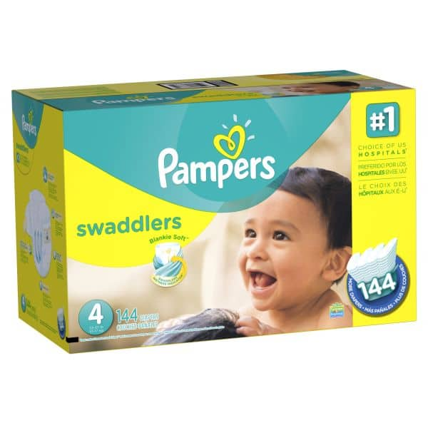 Pampers Diapers 35% off on Jet.com