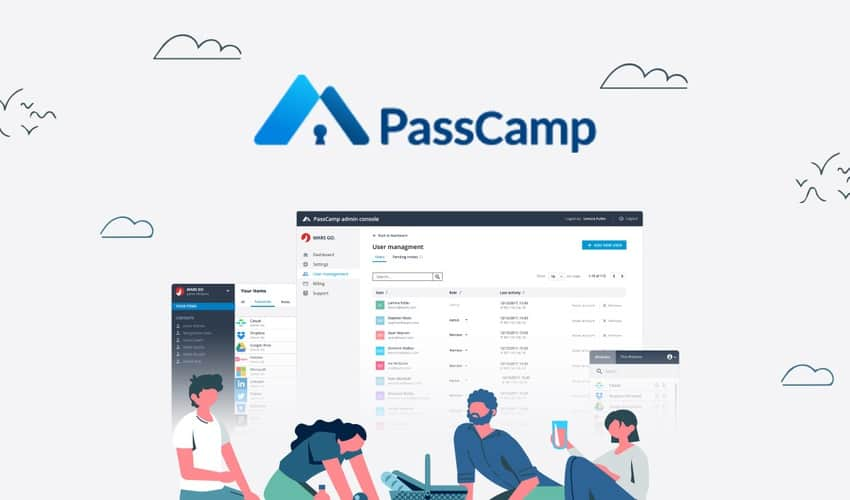 Pass Camp, password manager, 47% off - only $39