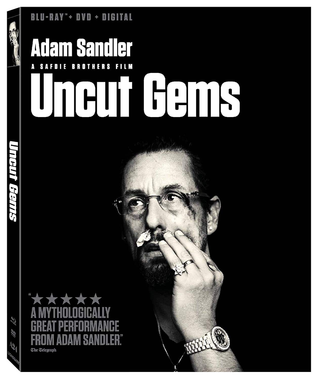 Uncut Gems - Blu-ray/DVD/Digital HD - $13.33 Amazon
