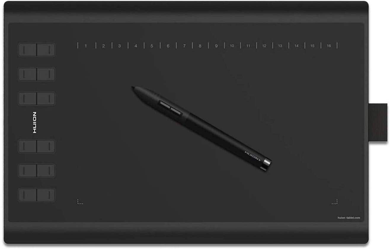Huion 1060 Plus Drawing Tablet $60.12 with $10 off Coupon