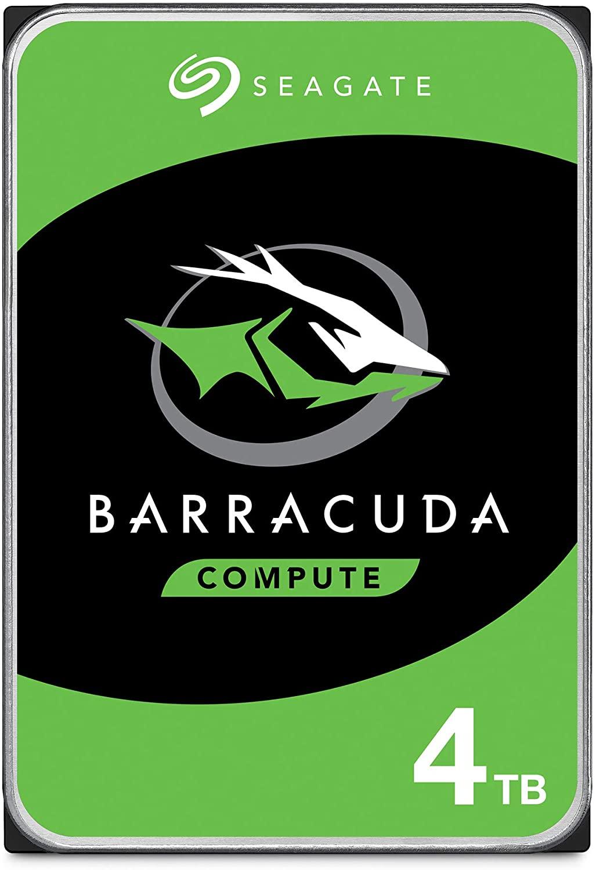 Seagate BarraCuda 4TB Internal Hard Drive HDD – 3.5 Inch Sata 6 Gb/s 5400 RPM 256MB Cache For Computer Desktop PC – Frustration Free Packaging ST4000DMZ04/DM004: Comput $79.99