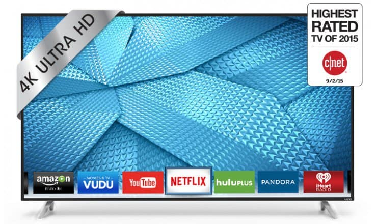 VIZIO 60 Inch 4K Ultra HD LED TV Smart TV M60-C3 (2015 Model) Jet.com $753 with Free Shipping