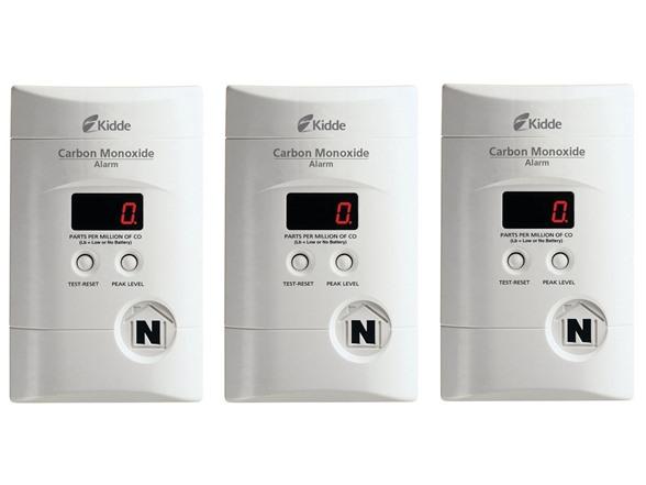 Kidde KN-COPP-3 Nighthawk Plug-In Carbon Monoxide Alarm with Battery Backup (3-Pack) $67.99 Woot.com