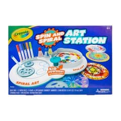 Crayola Spin & Spiral Art Station 2 for $12