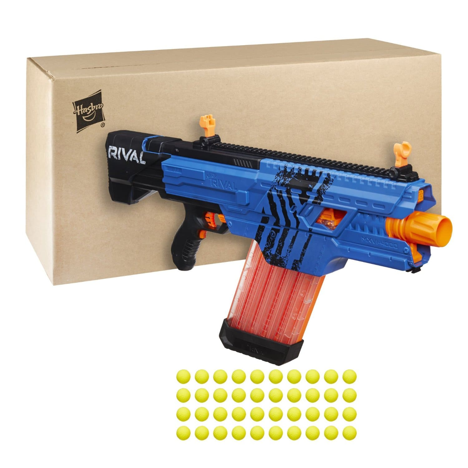 This looks like the Grand Daddy of Nerf Guns, check out all the bullets it  will hold! My boys would love this!
