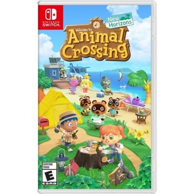 Animal Crossing: New Horizons, Nintendo Switch $49.94 Walmart