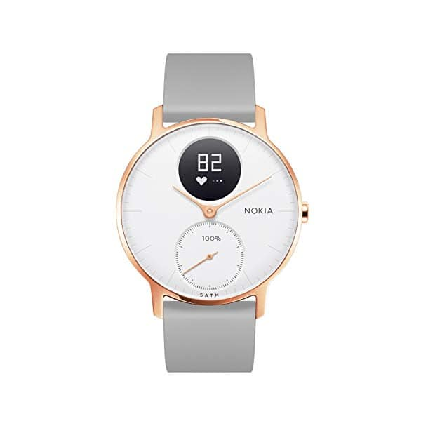 Prime Members: up to 30% discount on Nokia health products, Steel HR Rose Gold, Body Cardio, etc.