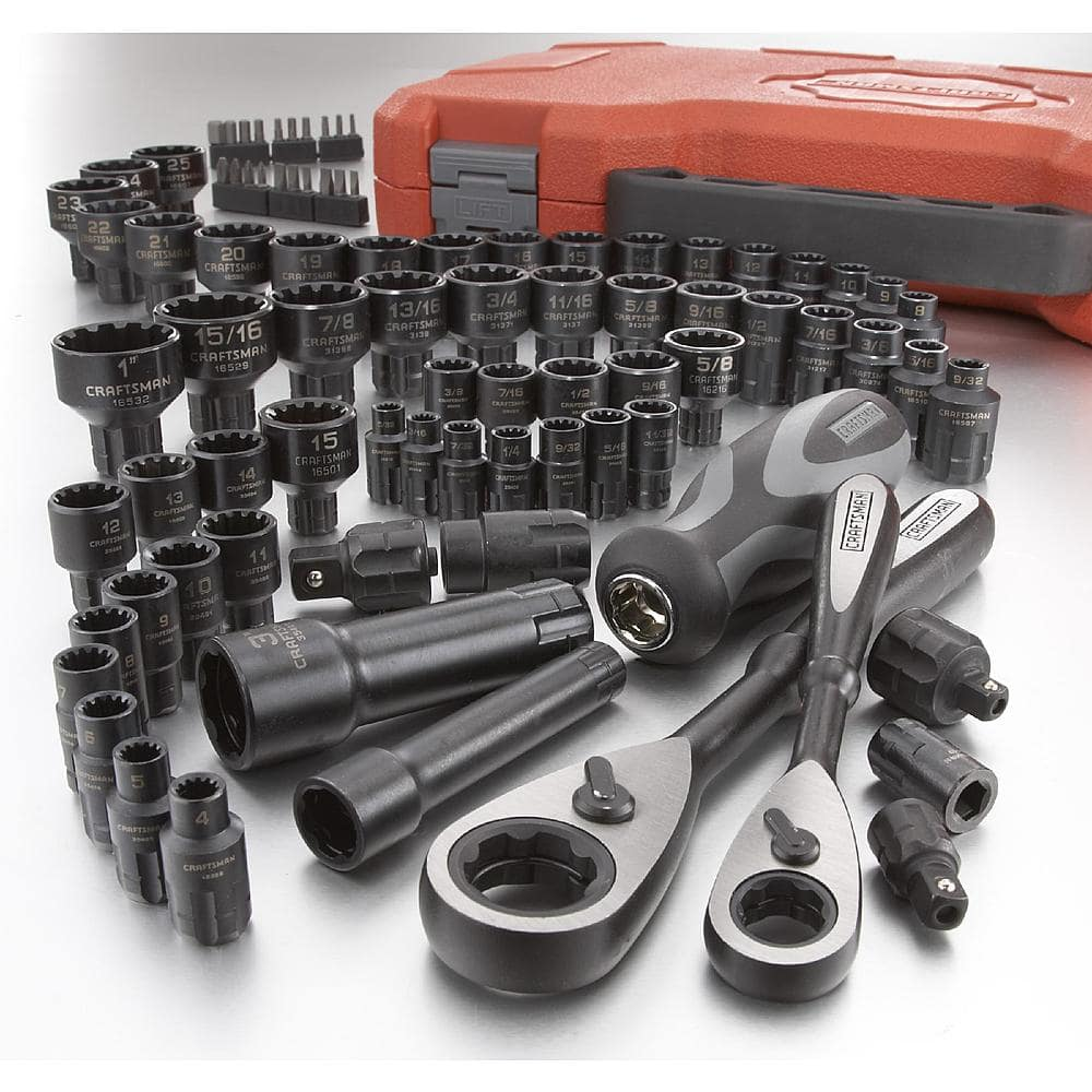 @Sears Craftsman 85pc Universal Max Axess Set - (Orig $120) - $60