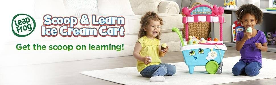 Leap frog scoop and learn ice cream cart $39.99