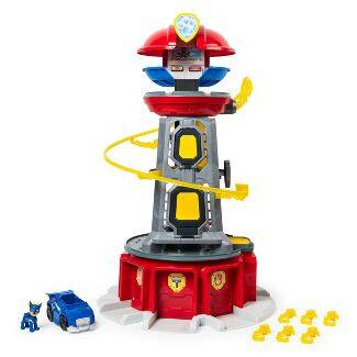 Paw Patrol Mighty pups lookout tower - $52