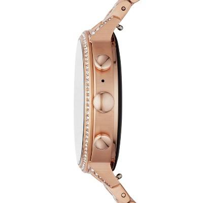Fossil Gen 4 Smartwatch - Venture HR Rose Gold Stainless Steel (with Glitz) $150