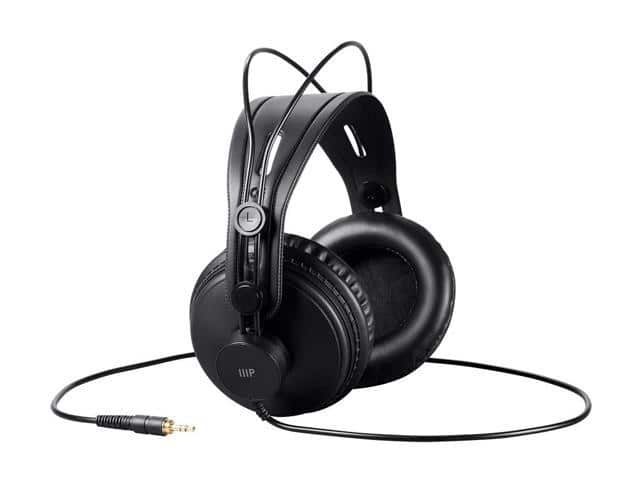 Monoprice Modern Retro Over Ear Headphones $29.99