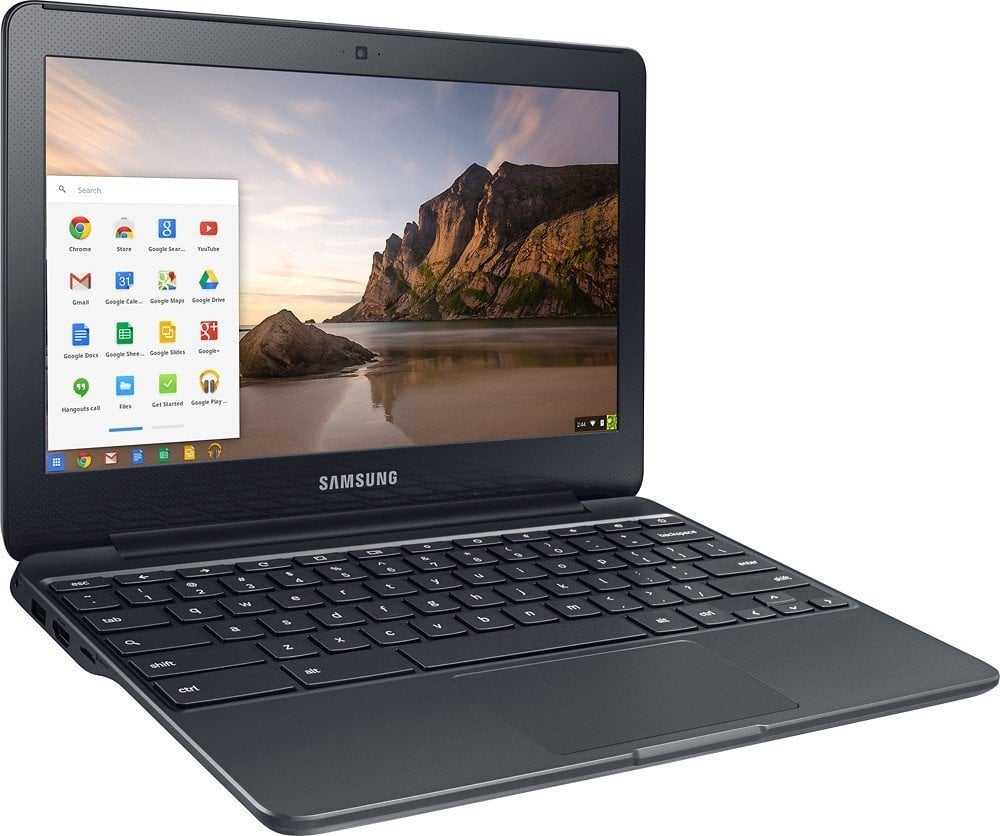 Samsung Chromebook 3, 11.6in, 4GB RAM, 16GB eMMC, Chromebook (XE500C13-K04US) (Renewed) $131.94