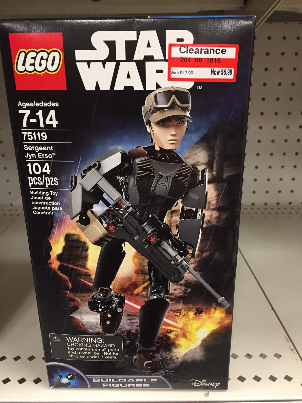 LEGO Star Wars Sergeant Jyn Erso 75119 - Target $8.98 Clearance YMMV