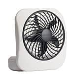 "O2COOL 5"" Battery Operated Portable Fan in WHITE/GREY $5.88 Add on Item"