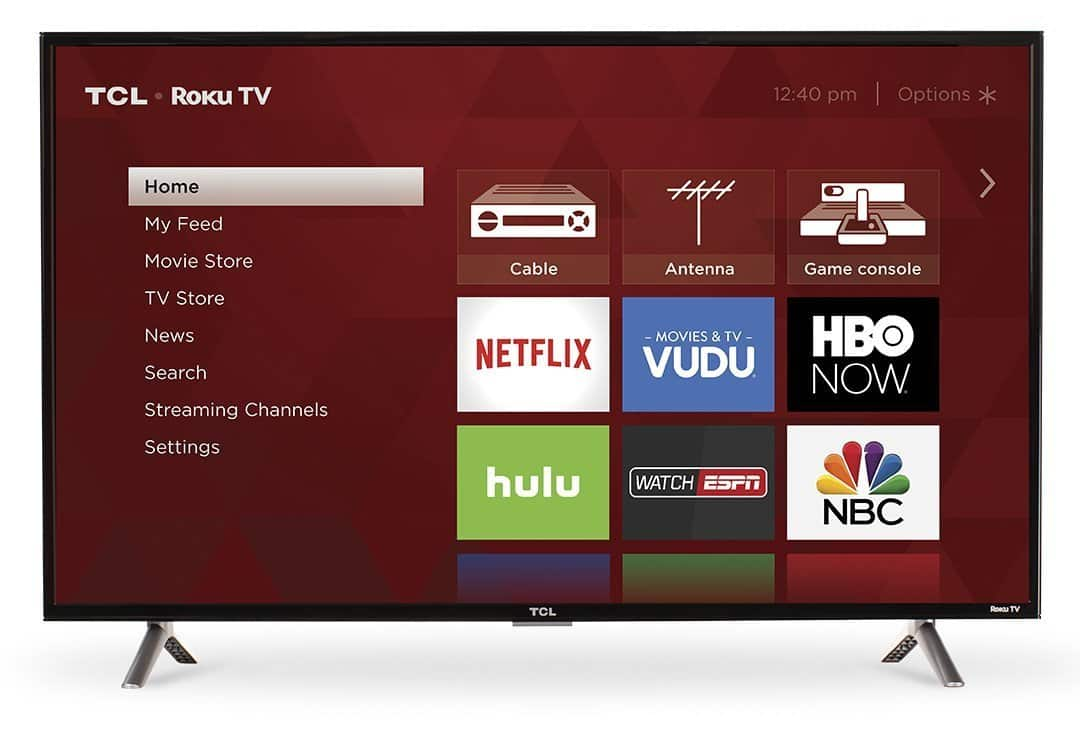 TCL 40S305 40-Inch 1080p Roku Smart LED TV (2017 Model) $212.49 Free Shipping