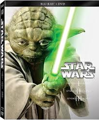 Star Wars: Prequel Trilogy Episodes I-III Blu-ray Steelbook Set $18 Free shipping over $50