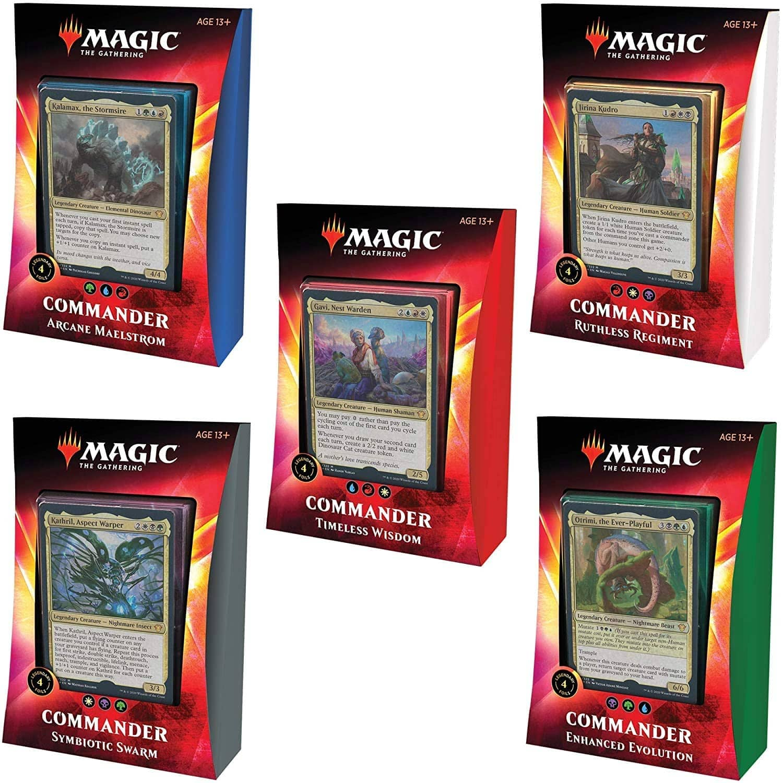 Magic The Gathering Ikoria: Lair of Behemoths Commander Decks | All 5 Decks $99.99 ($94.99 like new)