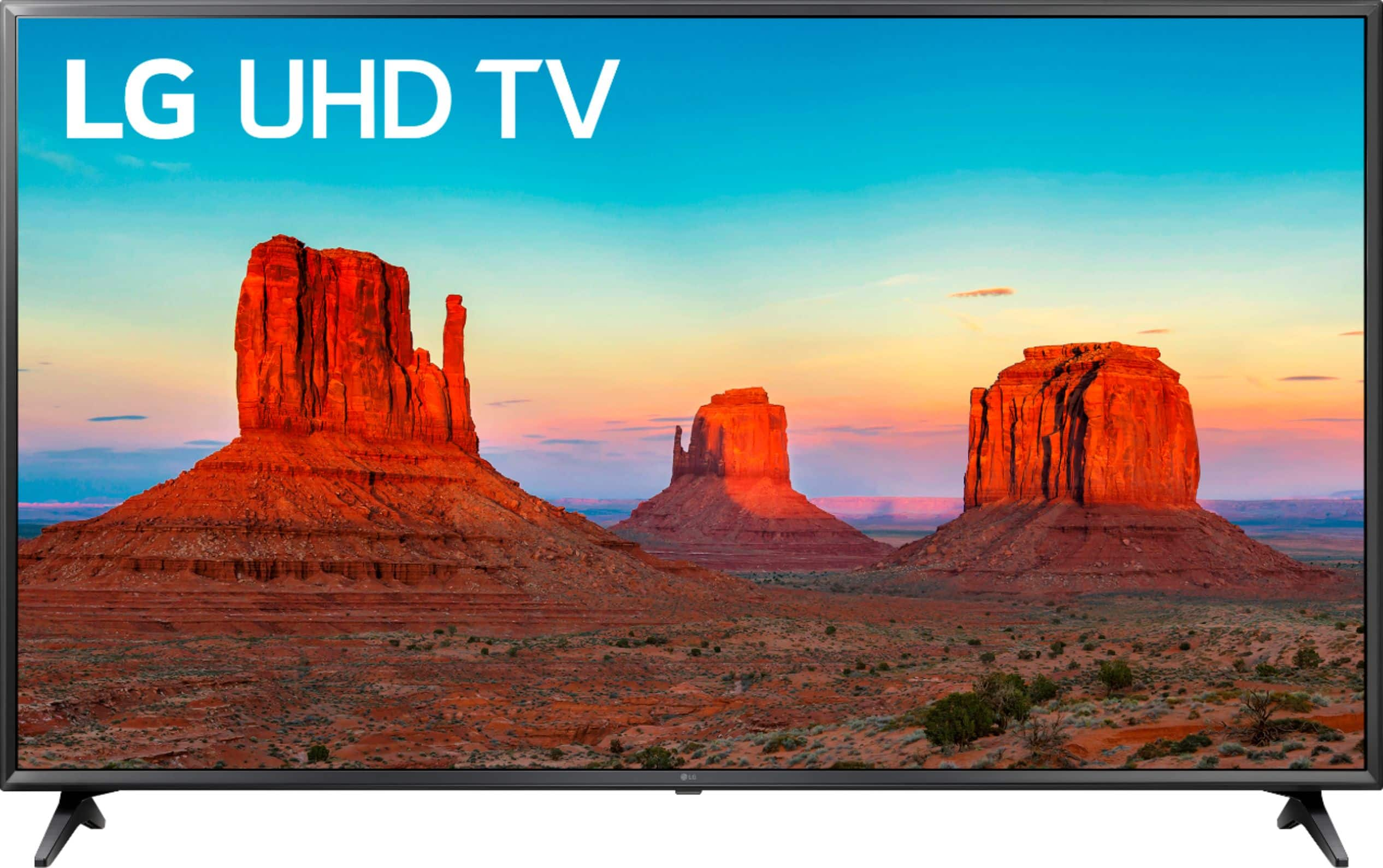 "LG 55"" Class LED UK6090PUA Series 2160p Smart 4K UHD TV with HDR $349.99"