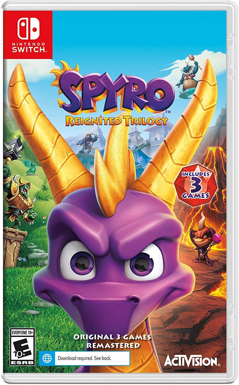Spyro Reignited Trilogy - Nintendo Switch Standard Edition $24.99
