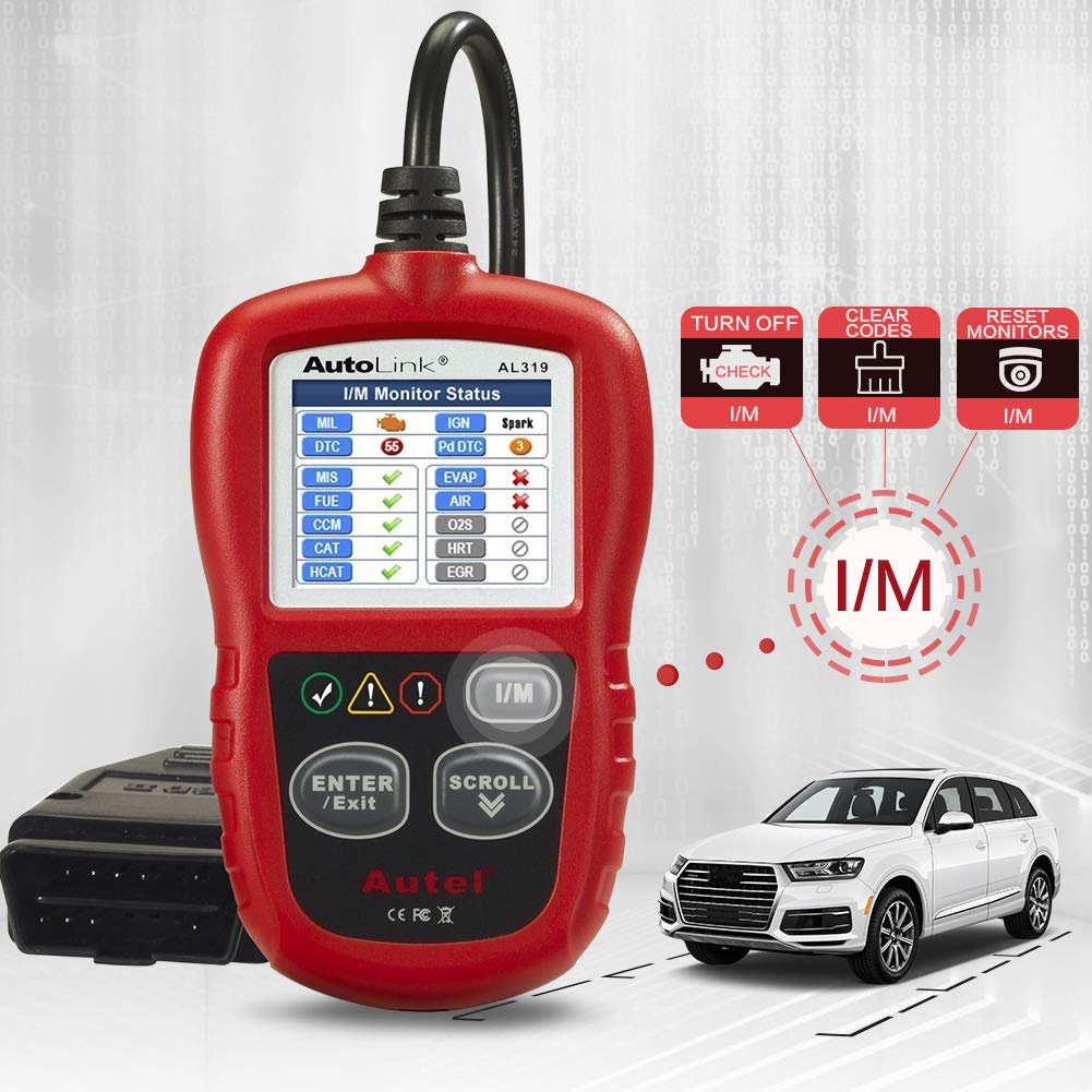 Autel AutoLink AL319 OBD2 Scanner Automotive Engine Fault Code Reader  $24.7
