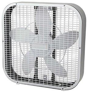 Holmes Box Fan, Metal, 20-Inch, White for $12.99 @ Amazon + Free Prime shipping