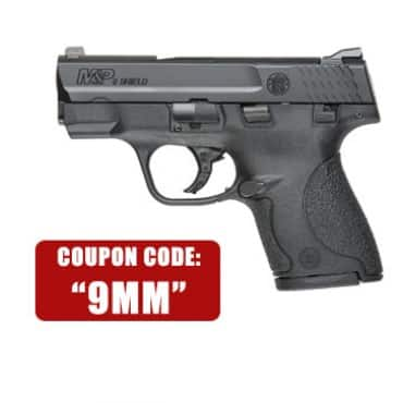 GUN Smith and Wesson MP Shield 9mm $329.99 + FFL fee + free shipping
