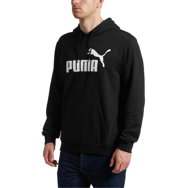 PUMA Men's Essentials Fleece Pullover Hoodie $17.49
