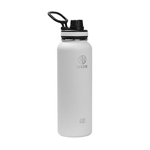 Takeya Originals 40-oz. Vacuum-Insulated Stainless Steel Water Bottle $16.05