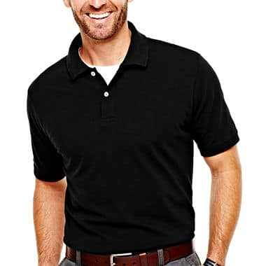 St. John's Bay Men's Legacy Piqué Polo Shirt $7