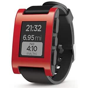 Pebble Smart watch - pink/Red for $20