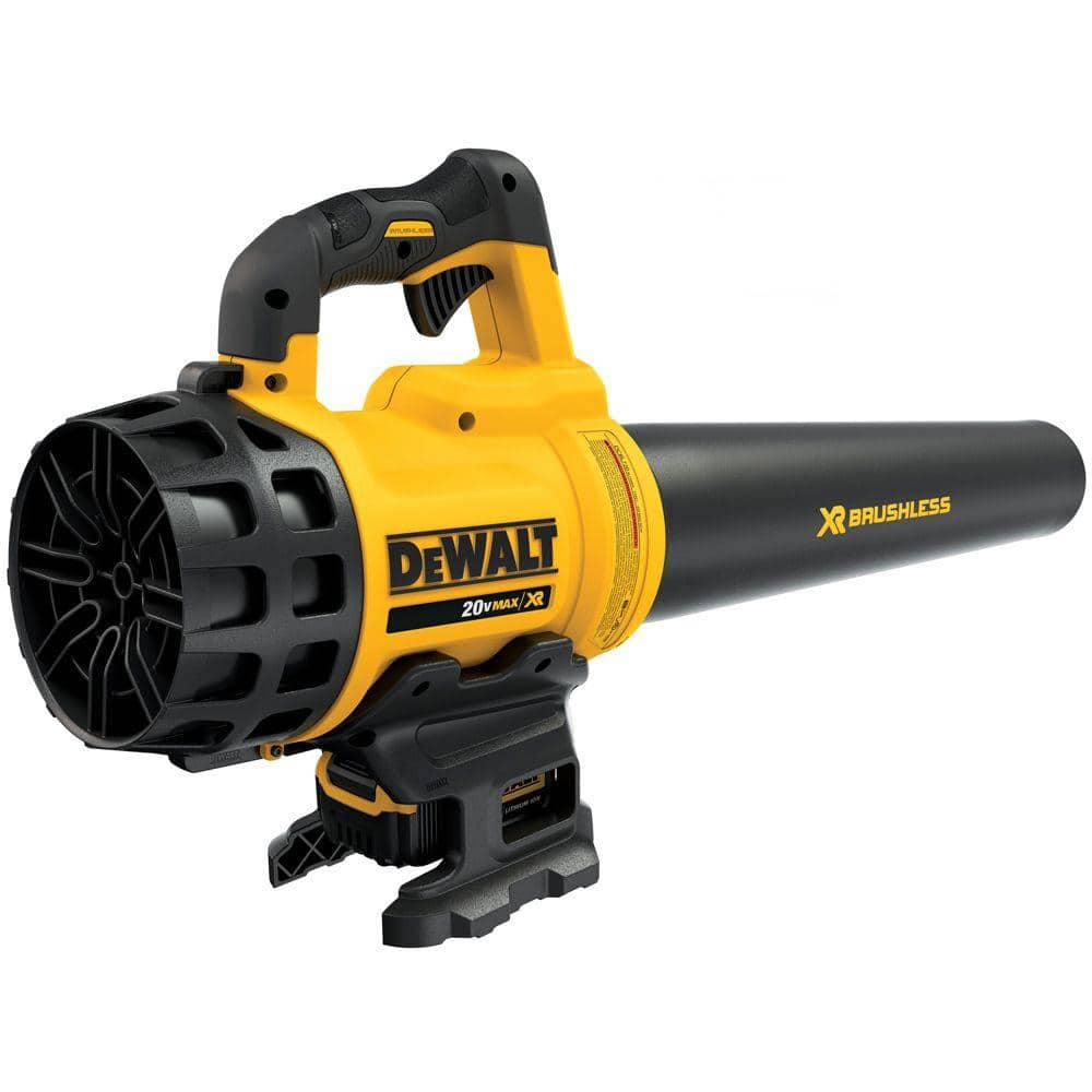 DeWALT 20V Cordless LIon XR Brushless Lawn Leaf Blower W/ Battery & Charger $99