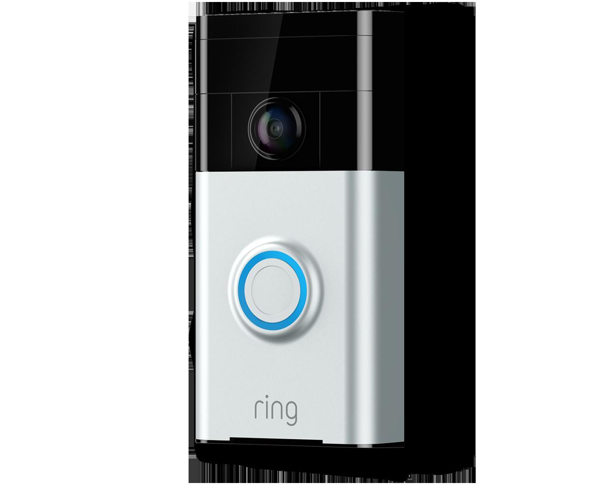Ring Satin Nickel Wireless Doorbell 129$