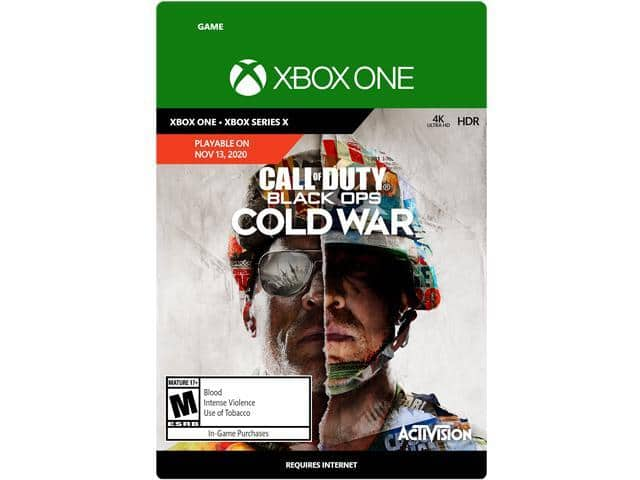 Call of Duty: Black Ops Cold War Xbox One Standard Edition [Digital Code] $49.99 with code EMCGDFH37