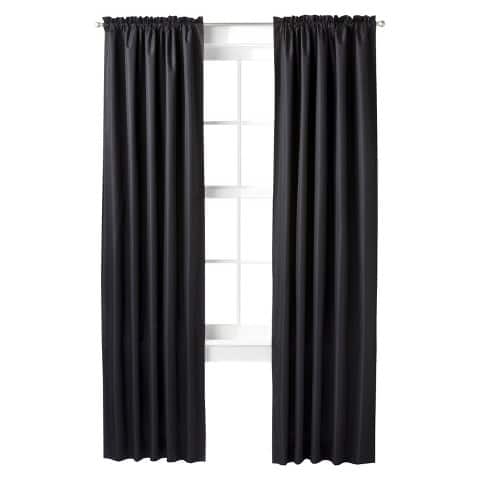 Thermal Curtain Panel - Room Essentials $2.98, buy 3 and get 4th one free plus 10% discount