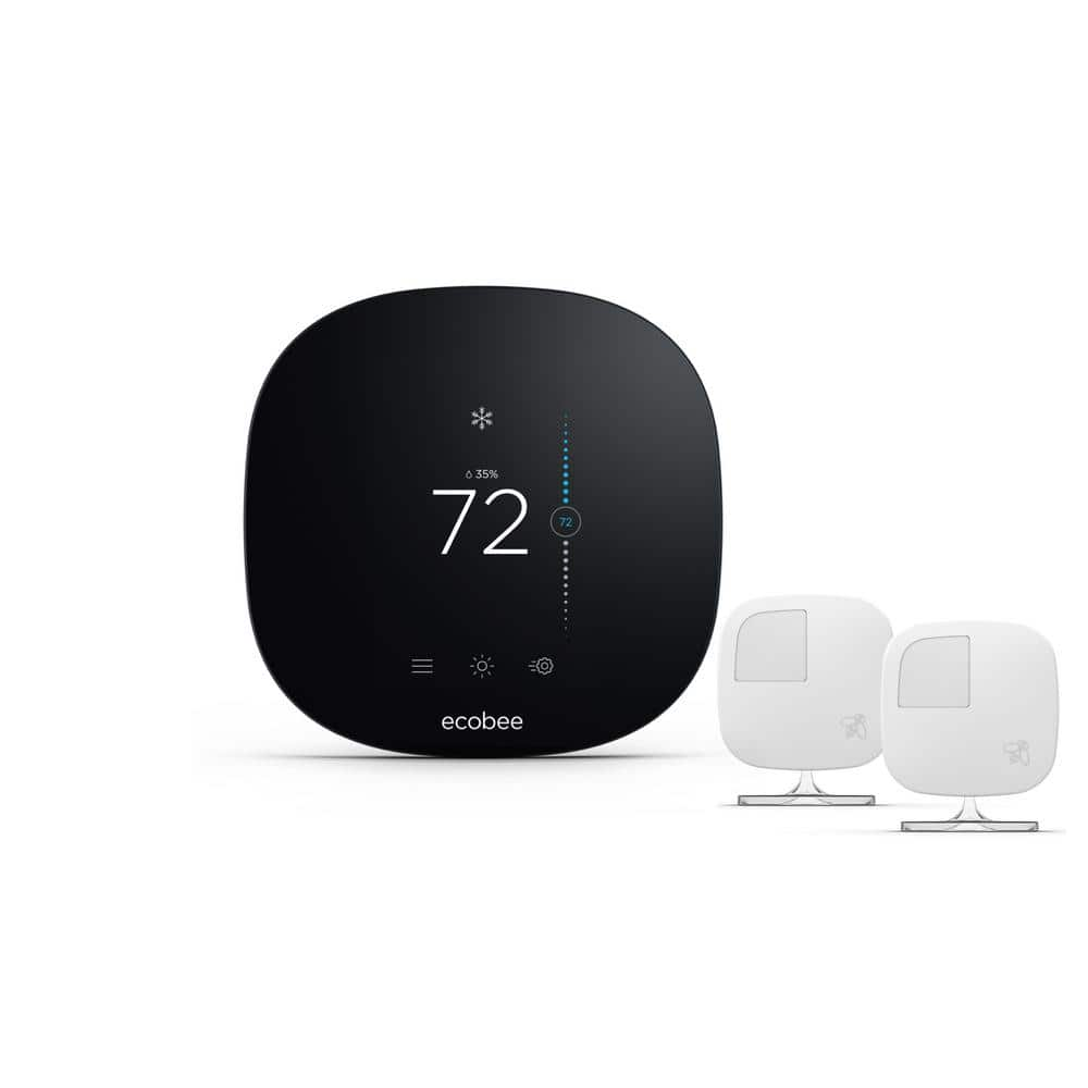 Ecobee 3 Lite 7-Day Programmable Smart Thermostat with 2-Pack Room Sensors $198
