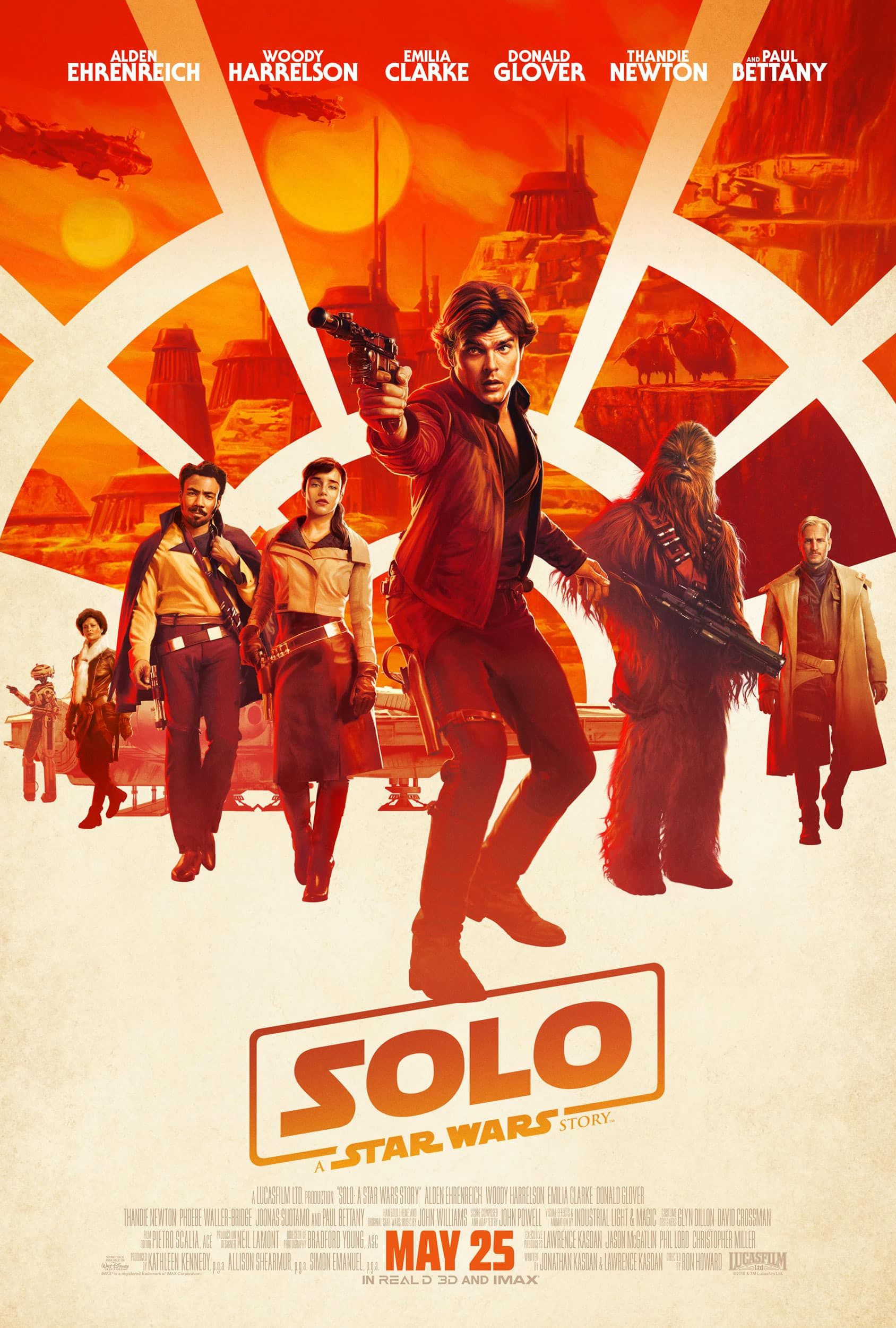AMC Theatres Stubs: 1,000 bonus points to see SOLO: A STAR WARS STORY 6/7–6/10.