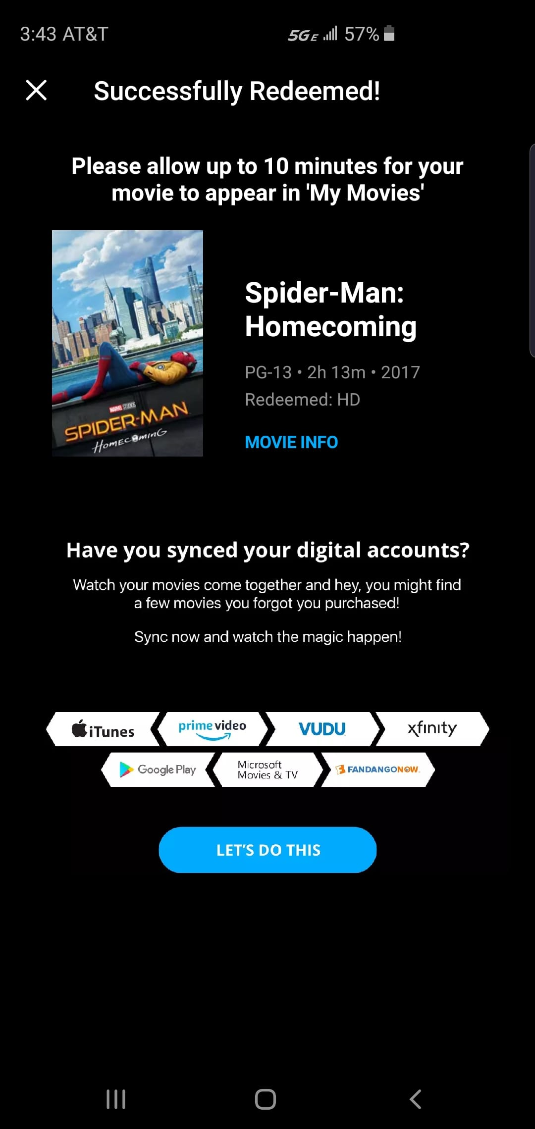 FREE Spider-Man: Homecoming movie download - Slickdeals net