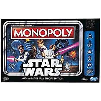 Monopoly Game: Star Wars 40th Anniversary Special Edition $17.4