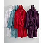 Martha Stewart Boxed Plush Robe - 1 for $12.72, 2 for $19.94 + free ship over $75 or $9.95 at Macys