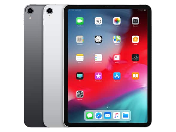 "Refurbished Apple iPad Pro (2018) 12.9"" Wi-Fi + Cellular Tablet - (Your Choice: Color & Capacity) $699.99"