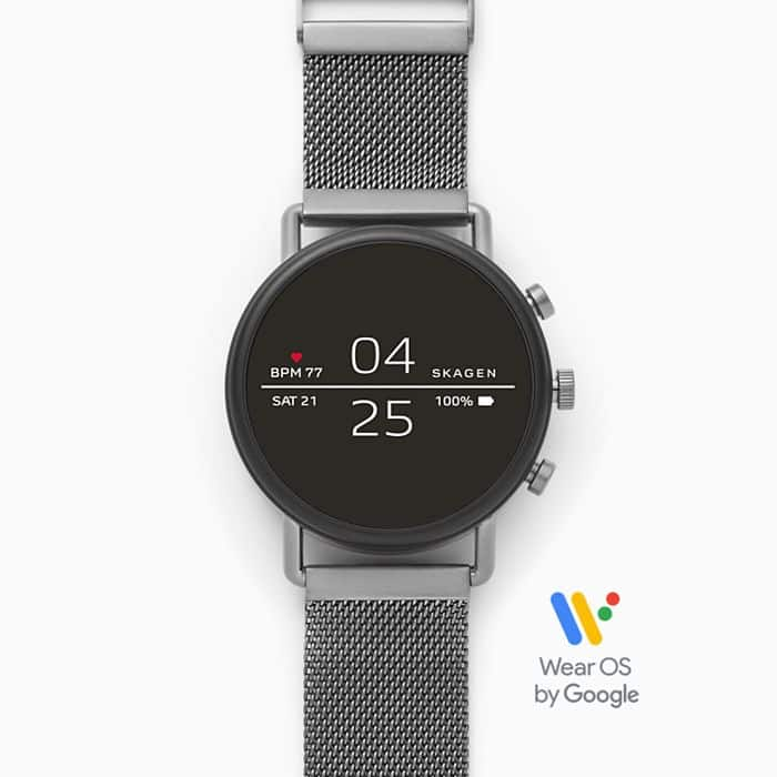Grab the Skagen Falster 2 Wear OS smartwatch for just $123 ($172 off)